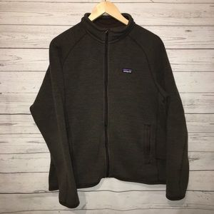 Patagonia Forest Green Full Zip Jacket Large